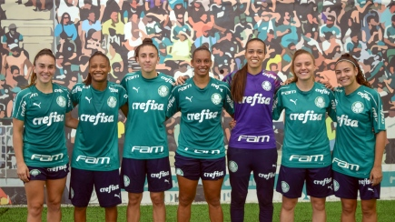 Foto; Divulgação Palmeiras