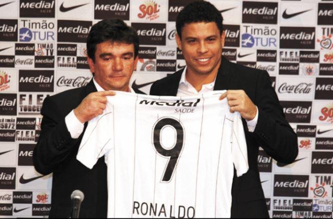 Apresentação do Ronaldo no Corinthians. Foto: Ari Ferreira/LANCE!Press