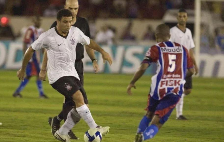 Estreia Ronaldo pelo Corinthians. Foto: Reprodução