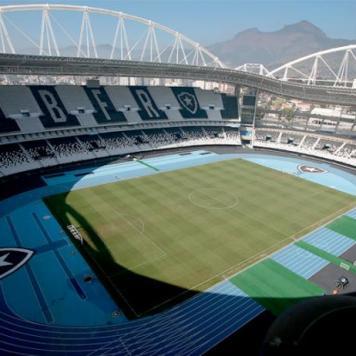 Estádio do Botafogo - Nilton Santos. Imagem: Reprodução/Internet