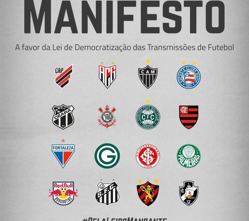 Manifesto pela Lei do Mandante. Foto:Reprodução