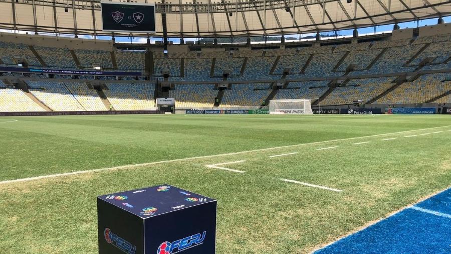 Maracanã e campeonato carioca. Foto: Fluminense/Reprodução