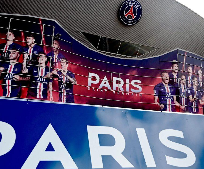 Seis atletas do Paris estão com Covid-19. Imagem: Crédito: FRANCK FIFE / AFP